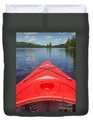 Loon Lake Reverie Duvet Cover