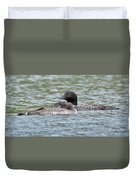 Loon Lullaby Duvet Cover