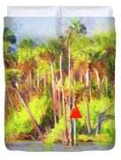 Loop Mile Marker 26 Duvet Cover