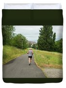 Loop Trail Runner Duvet Cover