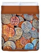 Loose Change Duvet Cover