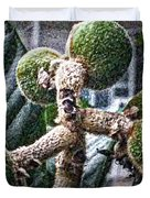Loquat Man Photo Duvet Cover