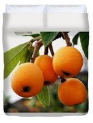 Loquats In The Tree 2 Duvet Cover