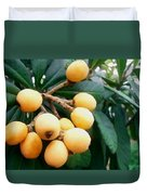 Loquats In The Tree 3 Duvet Cover