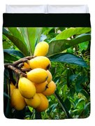 Loquats In The Tree 4 Duvet Cover