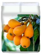 Loquats In The Tree 5 Duvet Cover