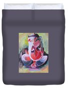 Lord Ganesha- Unique Abstraction Duvet Cover