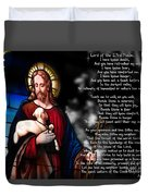 Lord Of The 23rd Psalm Duvet Cover