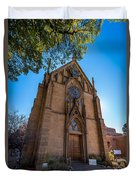 Loretto Chapel Duvet Cover