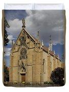 Loretto Chapel - Santa Fe Duvet Cover