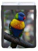 Lorikeet Parrot  Duvet Cover