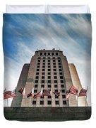 Los Angeles City Hall Duvet Cover
