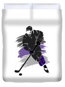 Los Angeles Kings Player Shirt Duvet Cover