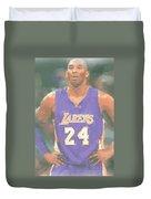 Los Angeles Lakers Kobe Bryant 2 Duvet Cover
