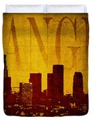 Los Angeles Duvet Cover