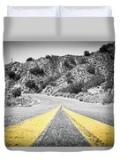 Los Padres Country Highway Duvet Cover