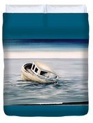 Lost At Sea Contd Duvet Cover