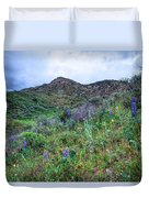 Lost Canyon Wildflowers Duvet Cover