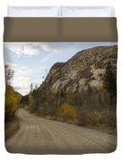 Lost Creek Road Duvet Cover