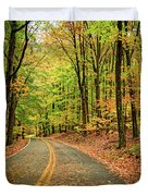 Lost In Pennsylvania Duvet Cover