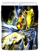 Lost In Space Abstract Duvet Cover