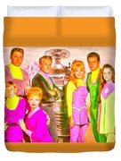 Lost In Space Team - Pa Duvet Cover