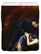 Lost In Tango Duvet Cover