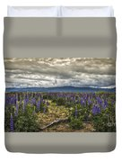 Lost In The Lupine Duvet Cover