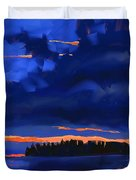 Lost Island Duvet Cover