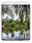 Lost Lagoon, Vancouver Duvet Cover