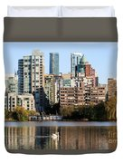 Lost Lagoon Vancouver  Duvet Cover