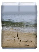 Lost Message In A Bottle 2 Duvet Cover