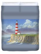 Lost Point Light Duvet Cover