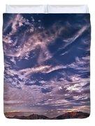 Lost River Sky Duvet Cover