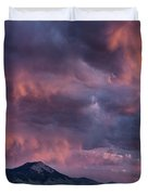 Lost River Sunset Duvet Cover