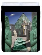 Lost Temple Of Alexandria Duvet Cover
