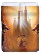 Lost Valley Duvet Cover