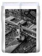Lost Violin Duvet Cover