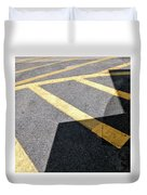 Lot Lines Duvet Cover by Eric Lake