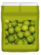 Lots Of Limes Duvet Cover