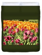 Lots Of Tulips Duvet Cover