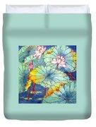 Lotus #2 Duvet Cover
