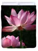Lotus Beauties--upstaged Dl048 Duvet Cover by Gerry Gantt