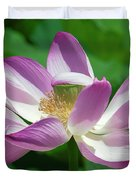 Lotus--center Of Being--protective Covering I Dl0087 Duvet Cover