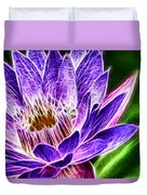Lotus Close-up Duvet Cover