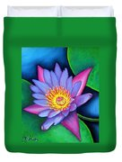 Lotus Divine Duvet Cover