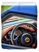Lotus Evora S Steering Wheel -1858c Duvet Cover