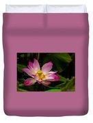 Lotus Flower Duvet Cover