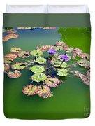 Lotus Flowers #4 Duvet Cover