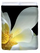 Lotus From Above Duvet Cover